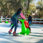 Abre la pista de hielo de Navidad GNP en Jardín Pushkin #Entretenimiento