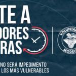 """Voluntarios Modelo transforma su plataforma para dar pie al voluntariado digital a través de """"Donadores de Horas"""" #Marketing"""