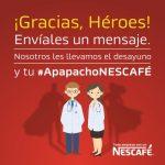 ¡Gracias, Héroes! personal médico recibe mensajes de aliento y gratitud a través de la iniciativa Apapacho NESCAFÉ®  #Marketing