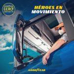 """Goodyear lanza campaña """"Héroes en Movimiento"""", en redes sociales. #NEGOCIOS"""