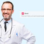 """Chat de consultas médicas, el nuevo servicio """"financiero"""" de la app Bnext para cuidar la salud sin salir de casa #TECNOLOGIA"""